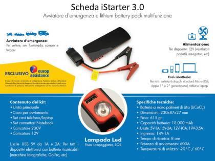 Schede iStarter - Power Bank